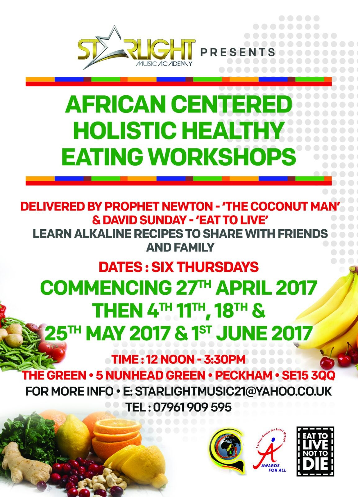 Holistic Heathy Eating Workshop – 2017