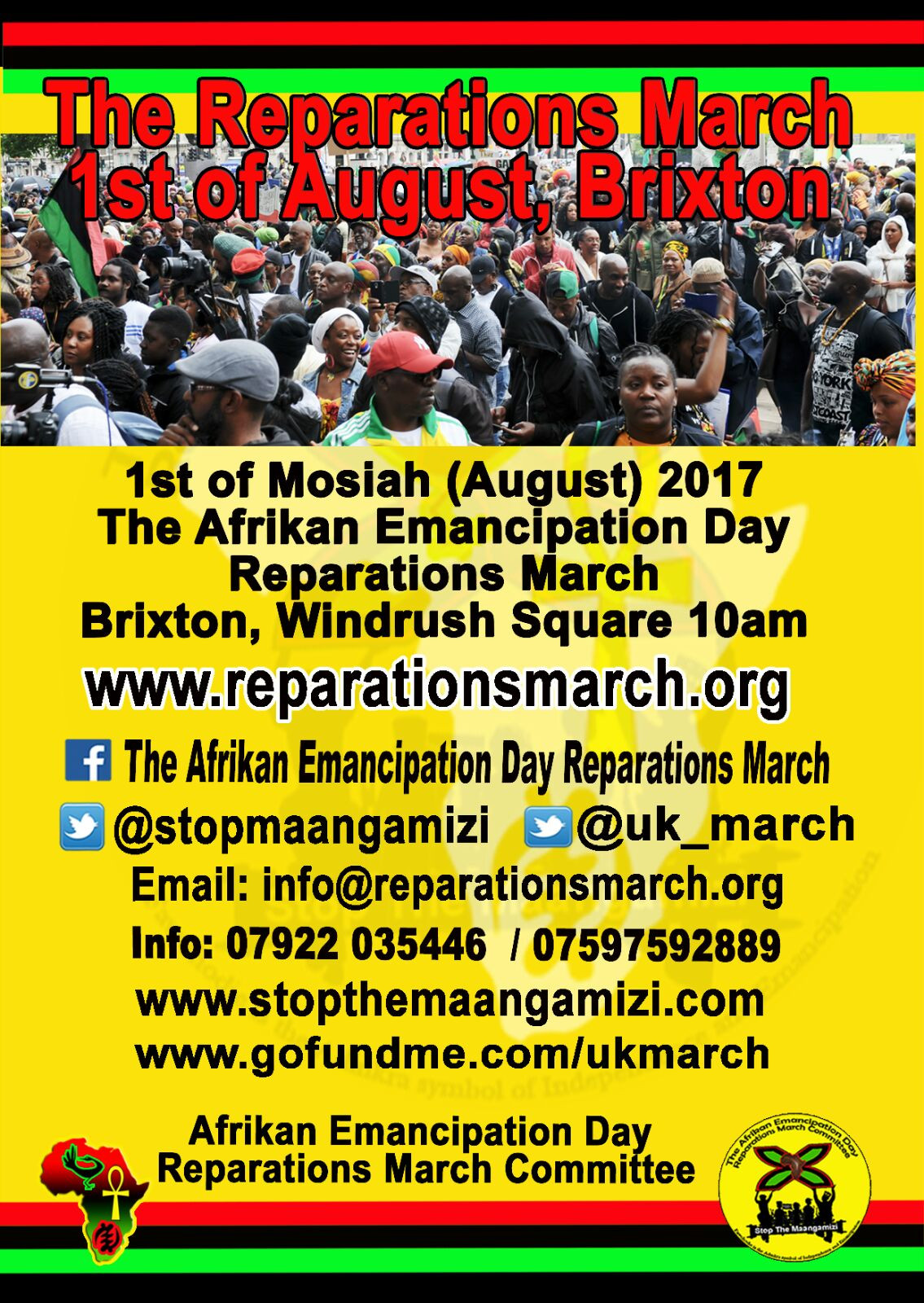 Reparation March Day 2017 – A