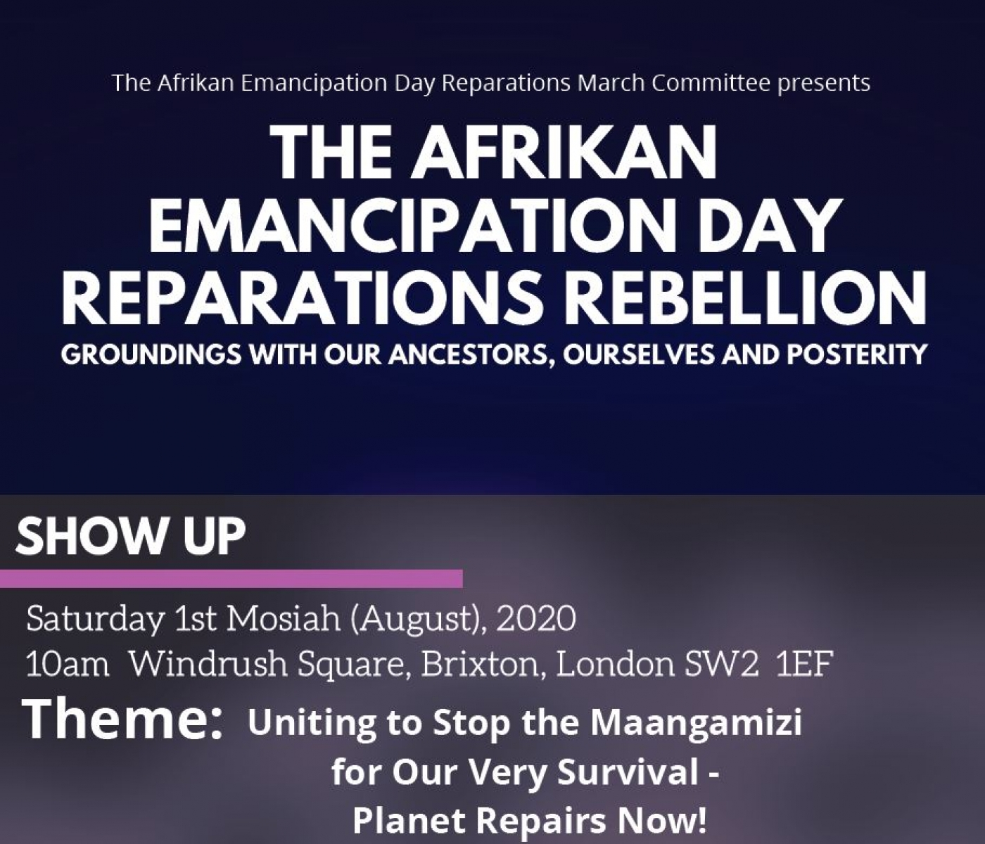 The First of August Reparation Gathering 2020 – Part1